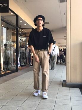 T.Ohashiさんの(Needles|ニードルス)を使ったコーディネート