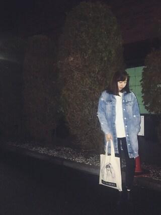 勝田里奈さんの「ケーブルニットプルオーバー◆(SLOBE IENA|スローブイエナ)」を使ったコーディネート