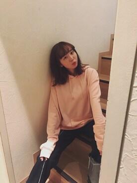 勝田里奈さんの(EMODA|エモダ)を使ったコーディネート