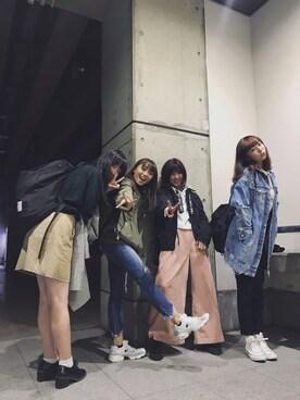勝田里奈さんの(FREAK'S STORE|フリークスストア)を使ったコーディネート