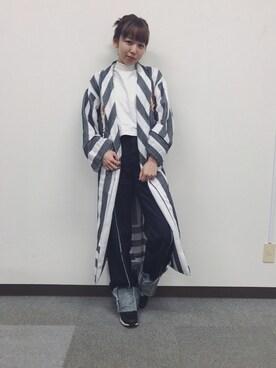 勝田里奈さんのコーディネート