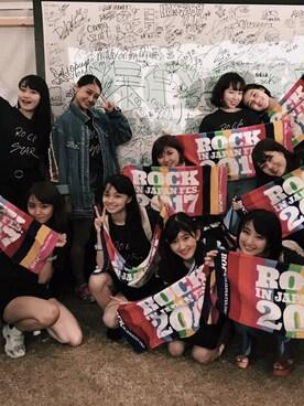 勝田里奈さんの(ROCKIN JAPAN FES 2017)を使ったコーディネート