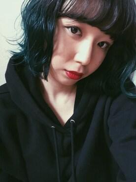 勝田里奈さんの「HOODIE LONG SLEEVE TOPS(SLY)」を使ったコーディネート