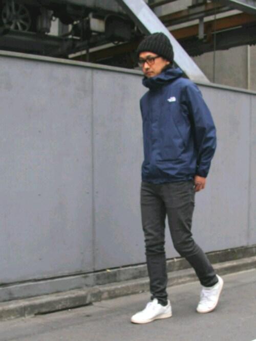 ノースフェイス着こなし|おしゃれメンズストリートファッション