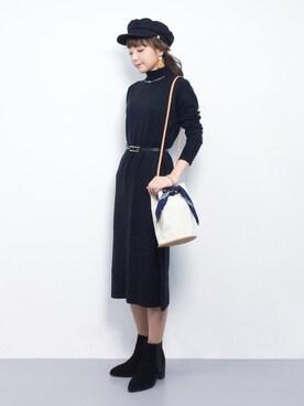 ZOZOTOWN|ayumi ;)さんの(Mila Owen|ミラ オーウェン)を使ったコーディネート