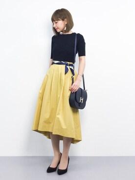 ZOZOTOWN|ayumi ;)さんの(SHIPS for women|シップスフォーウィメン)を使ったコーディネート