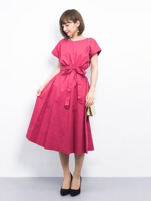結婚式ゲストドレスおしゃれコーデ