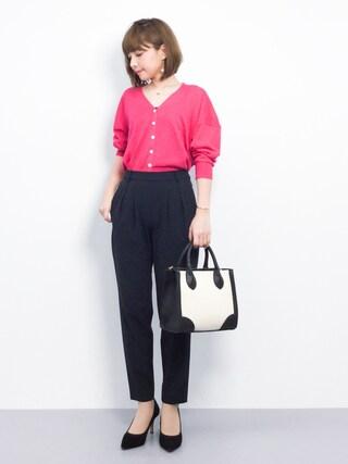 ZOZOTOWN ayumi ;)さんの「抜き衿UVカーディアガン(natural couture ナチュラルクチュール)」を使ったコーディネート