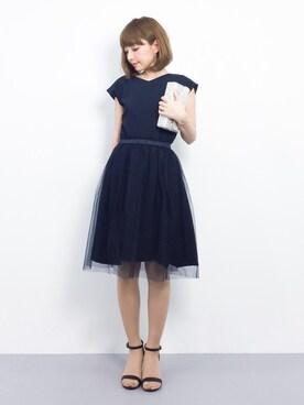 ZOZOTOWN|ayumi ;)さんの(moca couture|モカクチュール)を使ったコーディネート
