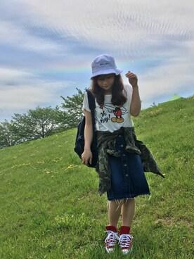 Taiyouさんの「ミリタリーBIGジャケット 733922(LOWRYS FARM|ローリーズ ファーム)」を使ったコーディネート