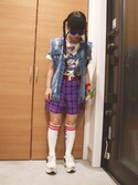 (FOREVER 21) using this ばなな looks