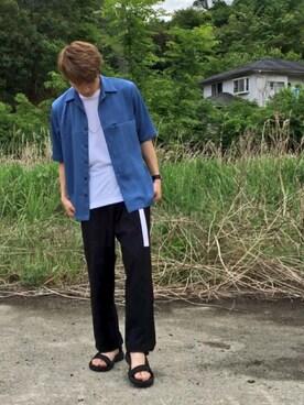 K.Kitaichiさんの(RAGEBLUE|レイジブルー)を使ったコーディネート