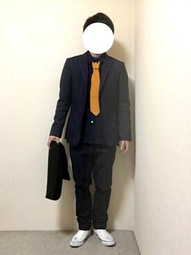 HIKARUさんの(Yves Saint Laurent|イヴサンローラン)を使ったコーディネート
