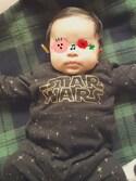tomtomny2525さんの「【STAR WARS Collection】ロゴカバーオール(BRANSHES ブランシェス)」を使ったコーディネート