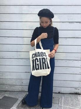 X-girl store Erinaさんのコーディネート
