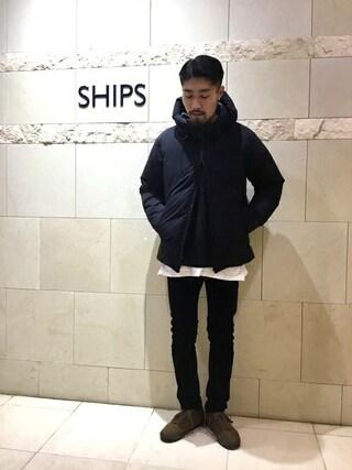 SHIPS 新宿店|吉原さんのパンツ「Lee: コーデュロイ スキニー パンツ(Lee