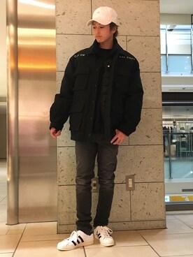 ビューティ&ユース ユナイテッドアローズ 町田店|Takumi Shimooさんのパンツ「CHEAP MONDAY / TIGHT GG(CHEAP MONDAY|チープマンデー)」を使ったコーディネート