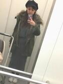 Hitomiさんの「★定番モッズコート★コットンファーツキモッズコート2 535818(LOWRYS FARM|ローリーズ ファーム)」を使ったコーディネート