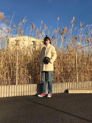 「FAUX-SRLING TAMA CT(MAISON KITSUNE)」 using this 潮田あかり looks