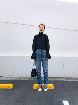 「<6(ROKU)>BACK VOLUME SHIRT/シャツ(BEAUTY&YOUTH UNITED ARROWS)」 using this 潮田あかり looks