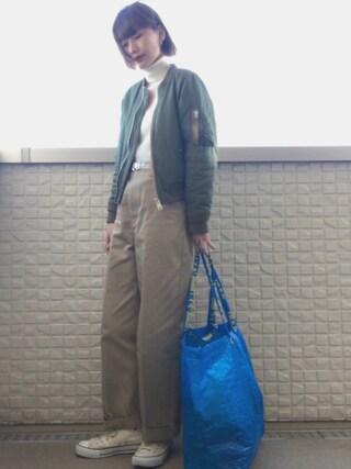 潮田あかりさんの「Dickies×k3&co. Pants(k3&co|ケイスリーアンドコ)」を使ったコーディネート