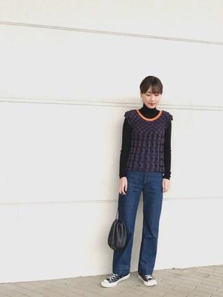(PLEATS PLEASE) using this 潮田あかり looks
