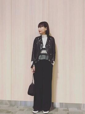 潮田あかりさんの(beautiful people|ビューティフルピープル)を使ったコーディネート
