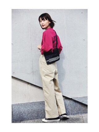 「HIGH PERFORMANCE pt ポケ付OP(HYSTERIC GLAMOUR)」 using this 潮田あかり looks