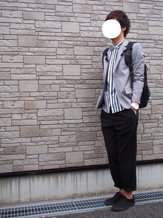 「ROSSO テーラードジャケット(ROSSO)」 using this Ryu--ta looks