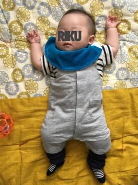 Rikuさんの(SHIPS KIDS|シップスキッズ)を使ったコーディネート