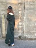 野尻美穂さんの「<H>COTTON OFF-SHOULDER DRESS/ワンピース(BEAUTY&YOUTH UNITED ARROWS|ビューティアンドユースユナイテッドアローズ)」を使ったコーディネート