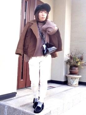 YOSHIKOさんの(GU|ジーユー)を使ったコーディネート