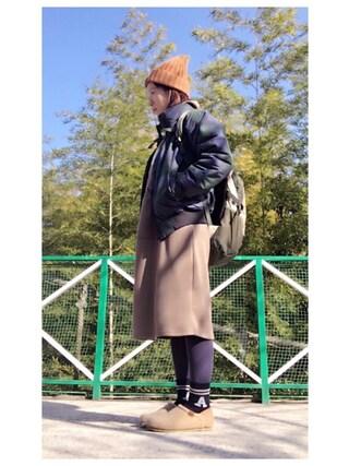 YOSHIKOさんの「ファルマスジャケット(Columbia コロンビア)」を使ったコーディネート
