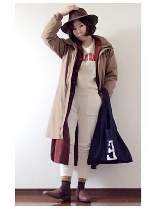 YOSHIKOさんの「アンアーバーズIIIウィメンズジャケット(Columbia コロンビア)」を使ったコーディネート