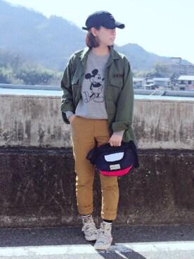 YOSHIKOさんの「プライスストリームミニショルダー(Columbia|コロンビア)」を使ったコーディネート