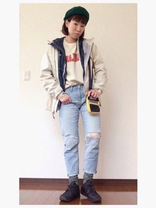 YOSHIKOさんの「マウンテンズアーコーリングⅡウィメンズジャケット(Columbia|コロンビア)」を使ったコーディネート