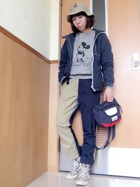 YOSHIKOさんの(UNIQLO|ユニクロ)を使ったコーディネート