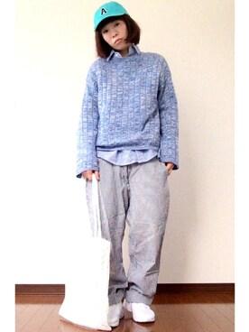 YOSHIKOさんの(WEGO|ウィゴー)を使ったコーディネート