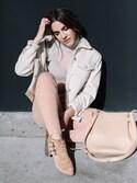 「Women's Topshop Jamie Raw Hem Skinny Jeans(Topshop)」 using this Erin Grey looks