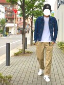 HOPEさんの「Well-Tailored / BB Cap ANNIE_act(chapter world クロ)」を使ったコーディネート