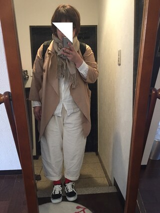 kyouさんの「綿麻ルーズビックパンツ【niko and...】(niko and...|ニコアンド)」を使ったコーディネート