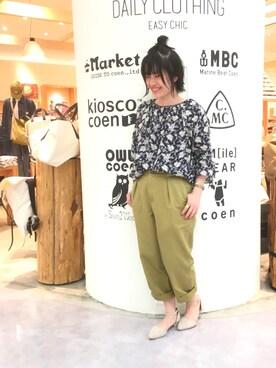coen Grand Store越谷レイクタウン店|coen  つるおかさんの(coen|コーエン)を使ったコーディネート