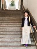 サトミィさんの「mature ha. 2017SS Collection... free hat jute -BLACK-(mature ha. ヤエカ)」を使ったコーディネート