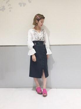 wcloset アミュエスト博多店| TAKAMATSU SAHO さんの(w closet|ダブルクローゼット)を使ったコーディネート