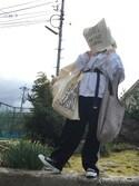 なつこさんの「マルシェバッグ / Marche Bag(TODAY'S SPECIAL トゥデイズスペシャル)」を使ったコーディネート