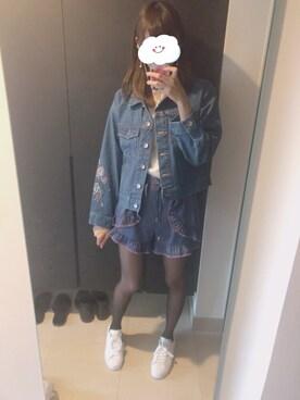 mio.♡さんの(adidas|アディダス)を使ったコーディネート