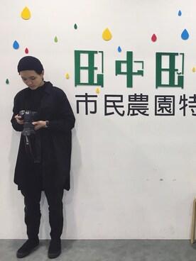 Yu Ying Chenさんの「VANS ヴァンズ SLIP ON スリッポン V98CLA M.BLACK(VANS|バンズ)」を使ったコーディネート