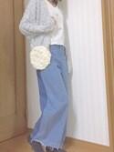 yukiさんの「靴下屋/ ゴム長ベタショートソックス(靴下屋|クツシタヤ)」を使ったコーディネート