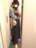 K&H☆彡さんの「タッセル2WAYキンチャク/562197(JEANASIS|ジーナシス)」を使ったコーディネート