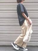 Ayaさんの「ミニマルシェバッグ / Mini Marche Bag(TODAY'S SPECIAL トゥデイズスペシャル)」を使ったコーディネート